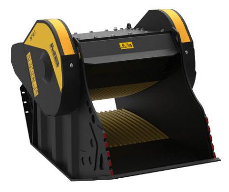 Caçamba Trituradora BF 90.3 S4